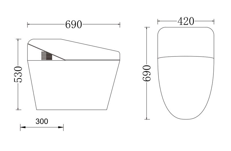 马桶冲水装置设计图